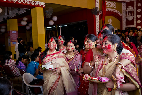 Sarees, Gold jewellery, Bengali Baudhis and the Rites of Sindhur Khela