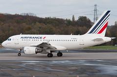 F-GUGJ (GerardvdSchaaf) Tags: airplane aircraft airbus dusseldorf airliner airfrance a319 eddl airfranceklm fgugj