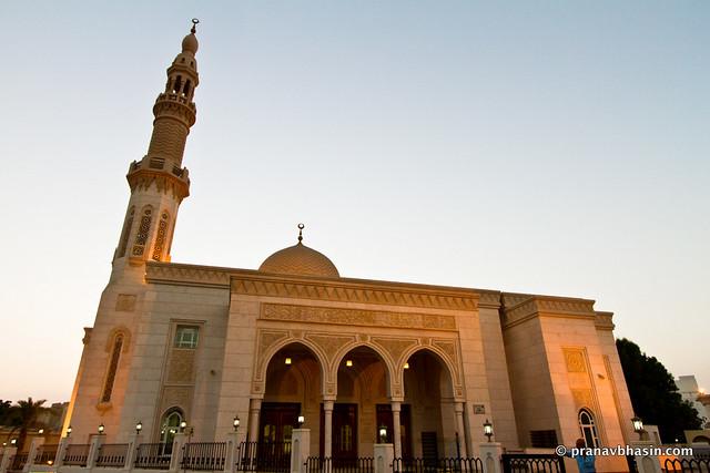 Marhaba Mosque, Near Burj Al Arab, Dubai