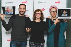 PUMA Impact Award Jury meets at Soho House NY (BRITDOC Foundation) Tags: documentary puma gaelgarciabernal susansarandon ericschlosser zadiesmith britdoc rickenpatel pumaimpactaward