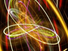 Tracing Loops (waruzm) Tags: neon cameratoss icm famouspizza intentionalcameramovement
