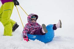 Sled Riding 2013-5 (TheDarrenSharp) Tags: winter evelyn bern 3yearsold sledriding
