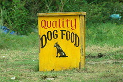 city food dog signs sign advertising quality guyana georgetown