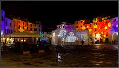 Piazza Anfiteatro (Marco D79) Tags: italy canon italia lucca luci piazza natale romana anfiteatro decorazioni illuminazione 600d 18135mm