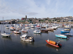 Boats in Penzance Harbour (pluralzed) Tags: boats cornwall harbour yachts moorings penzance westpenwith penwith penzanceharbour