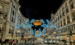 2/365 - Regent Street Christmas Lights (danieljcoomber) Tags: nightphotography london regentstreet christmaslights 365