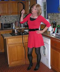 gillian the dom, 2014 (gillian .) Tags: tv dress lace dom feminine cd sub tights tgirl transgender mature tranny blonde transvestite whip heels crossdresser ts tg minidress pantihose