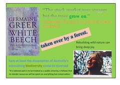 Germaine Greer rehabilitating rainforest (BSCG (Badenoch and Strathspey Conservation Group)) Tags: champ