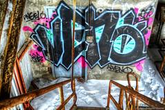 alveno (Charest.Photographie_Mouvement Rakkoon.) Tags: canada graffiti rust montreal 09 hdr urbex industriel abandonedplaces alveno