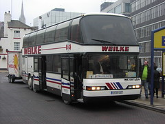 P1060004 Kraftverkehr Münsterland C. Weilke GmbH & Co. KG, Greven 27 ST-CW127 (Skillsbus) Tags: buses coaches germany neoplan eurolines kraftverkehrmünsterland weilke skyliner
