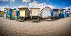 Mount Martha Beach Boxes (smattox114) Tags: beach photography oz sony au australia victoria fisheye coastal aus morningtonpeninsula apac oceania asiapacific sonynex6