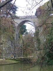 Pont (Janvier 2014) (Ostrevents) Tags: bridge paris france stone square europa europe hill pont capitale parc butteschaumont roche chaumont buttes chn belvdre ostrevents