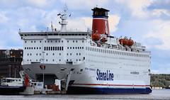 Fähre Stena Scandinavica - Kiel 02 (Stefan_68) Tags: ferry germany deutschland barco ship harbour nave hafen schiff kiel fähre navio schleswigholstein schip fährschiff