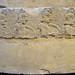 Semicircular funerary monument from Poggio Gaiella (7): line of warriors, detail