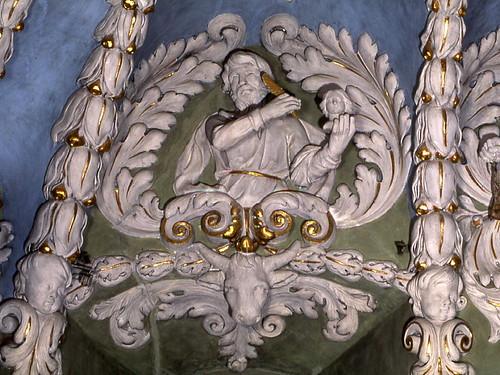 Valloire, stucs St Luc - © A.Maniak, Fondation Facim