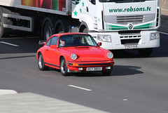 Porsche 5M5A5837 (kenjonbro) Tags: uk red england stone canon kent 911 porsche dartfordtunnel a282 thebrent worldcars dartfordrivercrossing kenjonbro canoneos5dmkiii canonzoomlensef70300mm1456isusm ret385x