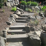 """Beautiful Square Staircase by Greenhaven Landscapes <a style=""""margin-left:10px; font-size:0.8em;"""" href=""""http://www.flickr.com/photos/117326093@N05/12994174833/"""" target=""""_blank"""">@flickr</a>"""