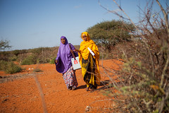 Ayan Hassan and Sahro Ahmed travel long distance to deliver polio vaccination in hard to reach areas (UNICEF Ethiopia) Tags: unicef children health somali ethiopia polio unicefethiopia unicefatwork