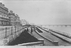 E01356 Grand Parade (East Sussex Libraries Historical Photos) Tags: pier seaside victorian eastbourne leisure bathing seafront 1860s eastsussex 1870s grandparade
