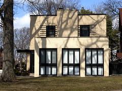 Art Moderne House - Riverside IL (Mark 2400) Tags: house art illinois riverside moderne