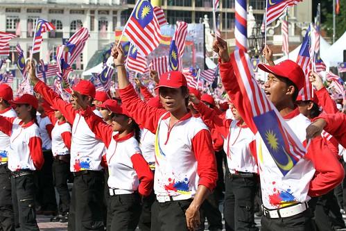 Sambutan Hari Kemerdekaan Ke 55