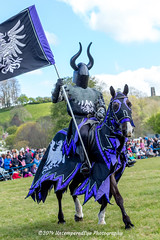 [2014-04-19@13.23.33a] (Untempered Photography) Tags: horse history animal costume flag helmet medieval knight tor joust armour reenactment jousting combatant chainmail lists glastonburytor canonef50mmf14 perioddress theknightsofthedamned mailarmour untemperedeye canoneos5dmkiii untemperedeyephotography glastonburymedievalfayre2014