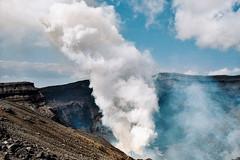 Japon 2014 - Mont Aso (romuleald) Tags: film japan volcano iso400 400 japon nihon argentique volcan asosan  montaso nationphoto japon2014
