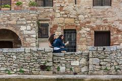 Taking pictures (generatorrr) Tags: girls italy san italia stones pietre tuscany siena toscana bagno selfie vignoni ragazze quirico