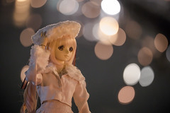 IMG_7394 (jtaisa) Tags: travel snow japan night toy momo doll hokkaido bokeh   dd otaru  xenosaga  dollfiedream hokkaidoprefecture  momomizrahi