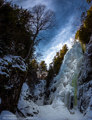 The Gorge (Explored) (photoMakak) Tags: winter snow newyork fall ice canon unitedstates hiking hiver adirondacks neige chute canonef1740mmf4lusm adirondack adk glace 6d randonnée peakbagging keenevalley rainbowfall adk46ers ne111 adk46r canon6d adk46er photomakak adk100 adkw46ers adkw46r adkw46er winteradk46ers