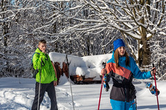 every day is a saturday (martinjurikphoto) Tags: trip winter friends white mountain snow skiing cross crosscountry nordic lopenk