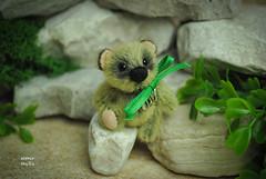 Rick10 (altair toyZZ) Tags: bear miniature teddy handmade ooak altair toyzz