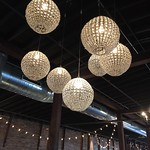 "Globe Chandeliers at Cannery One. <a style=""margin-left:10px; font-size:0.8em;"" href=""http://www.flickr.com/photos/69799952@N04/16172028019/"" target=""_blank"">@flickr</a>"