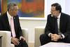 El presidente recibe al primer ministro de Singapur