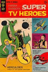 Hanna Barbera Super TV Heroes No. 4 (Gold Key 1969) (Donald Deveau) Tags: cartoon comicbook superhero tvshow herculoids birdman hannabarbera shazzan goldkey 1960stv