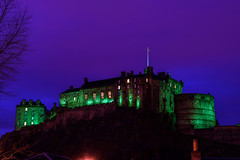 Edinburgh Castle Green (Colin Myers Photography) Tags: old blue green castle colin night dark photography scotland town twilight edinburgh edinburghcastle scottish oldtown atmospheric grassmarket myers vennel scottishcastle oldedinburgh colinmyersphotography edinburghcastlegreen