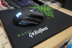 Rexus G7 With Razer Goliathus Mousepad (My.Lord) Tags: macro mouse gaming turbo mousepad g7 mylord razer goliathus rexus