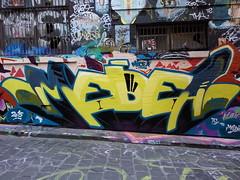 Medea... (colourourcity) Tags: streetart graffiti awesome touch melbourne malaysia medium burner kl medea hosierlane burncity colourourcity