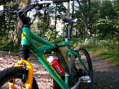 Cannondale Super V (skullwull) Tags: cannondale mountainbike