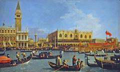 Canaletto: The Bacino di San Marco (petrus.agricola) Tags: venice canal view antonio giovanni canaletto vedute veneziane