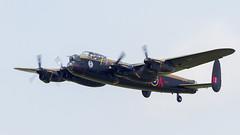 RCAF Avro 683 Lancaster B.10 KB726/C-GVRA 'VR-A' (Hugh Dodson) Tags: sunday ypsilanti rcaf vra willowrun kb726 cgvra avro683 lancasterb10 andrewmynarskivc thunderovermichigan2015