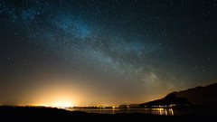 Milky Way over Murrisk (mickreynolds) Tags: longexposure nightphotography astrophotography croaghpatrick milkyway 2016 bertra nx500 samyang12mm