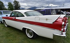 1957 Dodge Coronet 2 door hardtop (D70) Tags: park door 2 canada heritage hardtop village bc 1957 vehicle dodge visitors pioneer coronet association chilliwack threshermens atchelitz