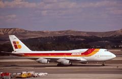 Air Atlanta 747 'TF-AMA' (Longreach - Jonathan McDonnell) Tags: 2005 madrid scan boeing boeing747 iberia 747400 2000s lemd scanfromaslide airatlanta 747412 tfama