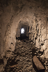 Heading out (Underground Explorers) Tags: california abandoned underground mine valley explorers exploration panamint