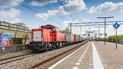 DBC 6432 passing through Zwijndrecht with a container train (Nicky Boogaard Photography) Tags: railroad eurostar ns siemens rail railway db cargo mak nsr koploper 6400 nmbs dbc icr e320 icmm velaro blogistics