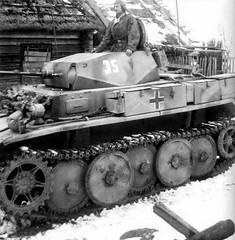 Panzer II Luchs 4. Panzerdivsion
