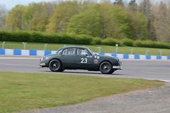 DSC_8646 - Jaguar Mk I (102er) Tags: auto uk classic cars car festival race racecar nikon racing historic tamron motorracing motorsport donington 70300 doningtonpark hscc d7000