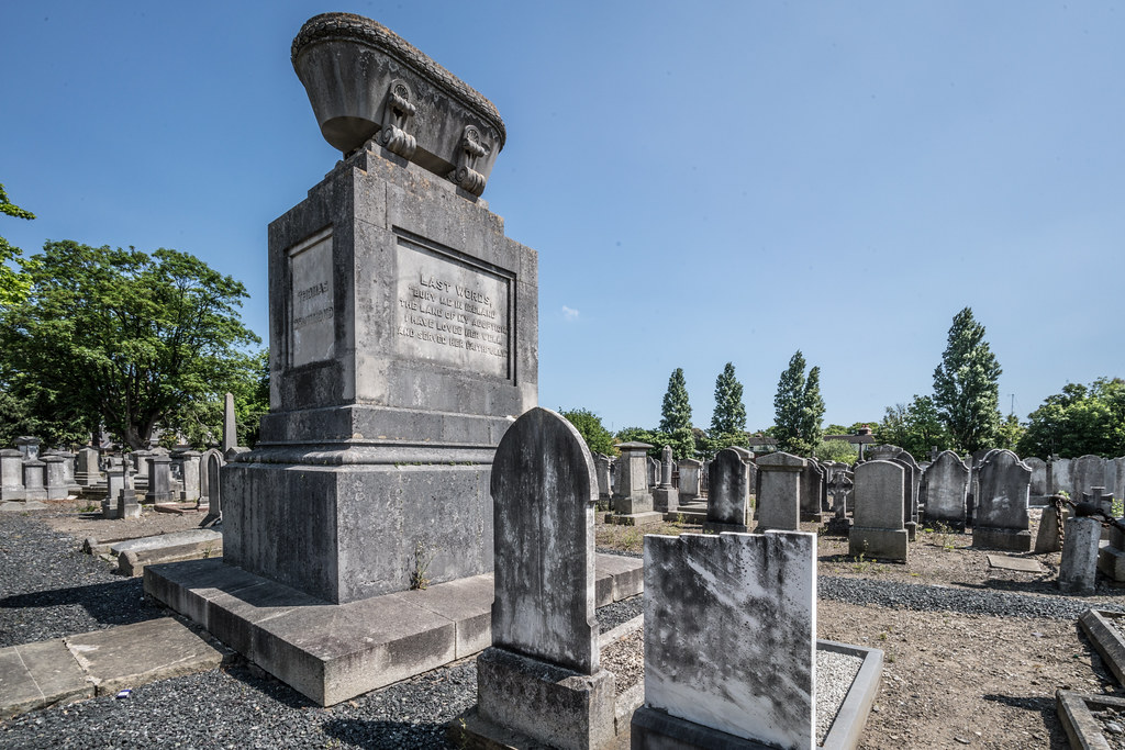 MOUNT JEROME CEMETERY AND CREMATORIUM IN HAROLD'S CROSS [SONY A7RM2 WITH VOIGTLANDER 15mm LENS]-117049