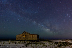 Milky Way Over the Jersey Shore (RGL_Photography) Tags: nightphotography stars nightscape astrophotography astronomy shack jerseyshore oceancounty gardenstate pinebarrens milkyway ibsp islandbeachstatepark galacticcenter nikond610 nikon1635mmf4afsvrged judgesshack